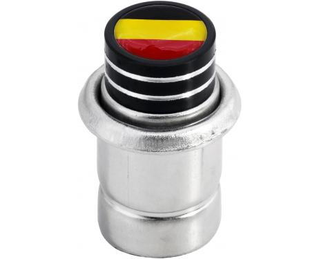 Cigarette lighter Germany German flag short black
