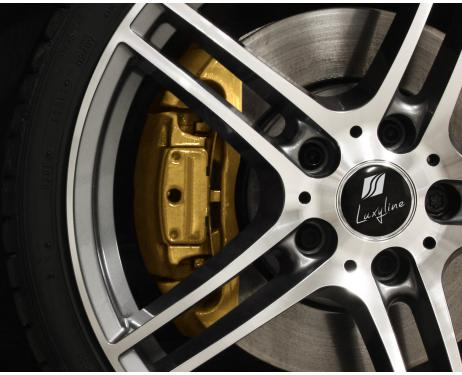 Painting kit for brake calipers golden