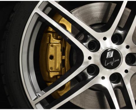 Painting kit for brake calipers golden