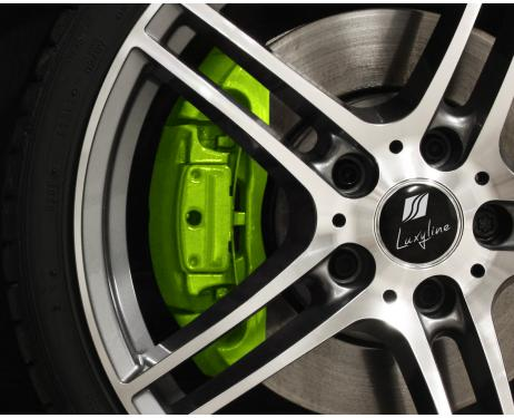 Painting kit for brake calipers green