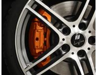Painting kit for brake calipers orange