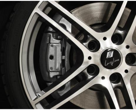 Painting kit for brake calipers silver