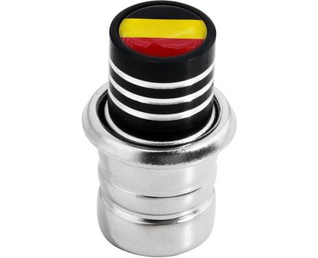 Zigarettenanzünder Deutsche Deutschland Flagge schwarz